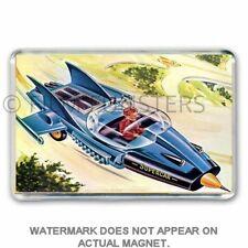 60's NOSTALGIA REMCO GERRY ANDERSON SUPERCAR TOY JUMBO FRIDGE / LOCKER MAGNET