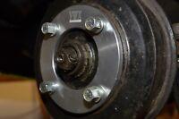 4x130 Slip on 10mm Pair  VW Classic Beetle Wheel spacer Bug  / Ghia / Type3 68