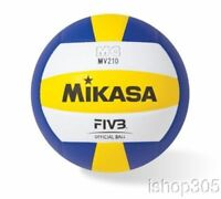 Mikasa MV210 FIVB Official Volleyball Premium Synthetic Leather Indoor Game Ball
