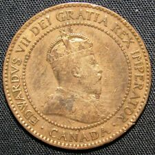 1906 Canada 1 Cent Coin