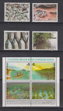 Philippine Stamps 2002 Fisheries & Coastal Resources Conservation Complete MNH