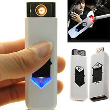 USB Electric Battery Rechargeable Flameless Collectible Lighter Cigar Cigarette