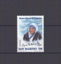 SAN MARINO, EUROPA CEPT 1996, FAMOUS WOMEN, MNH