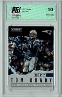 Tom Brady 2017 Panini #1 Cracked Ice Only 25 Made SSP Card PGI 10