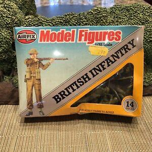 AIRFIX BRITISH INFANTRY 1/32 WORLD WAR 2 Factory sealed
