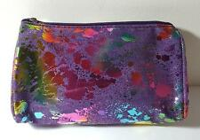 Avon Multi-color Mosaic Effects Small Cosmetic Case Bag -NWOT