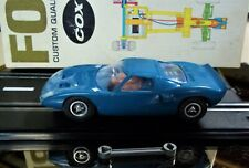 COX VINTAGE 1/24 1/25 GOOD FORD GT 40 SLOT CAR RUN CHASSIS BOX WRENCH KB AMT