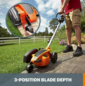 """Brand New WORX WG896 12 Amp 7.5"""" Electric Lawn Edger & Trencher"""