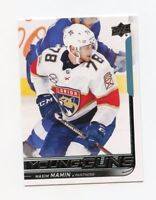 18/19 UPPER DECK YOUNG GUNS ROOKIE RC #206 MAXIM MAMIN PANTHERS *58761