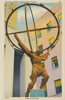 NEW YORK CITY – Statue of Atlas Rockefeller Center