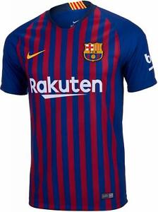 Juniors NIKE 2018/2019 FC BARCELONA HOME FOOTBALL Shirt 894458 456
