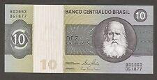 Brazil 10 Cruzeiros N.D. (1980), UNC, P-193; L-B814e; Prophet Daniel