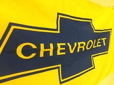 CHEVROLET Bow Tie BANNER SIGN OK RS 350 400 454 BBC SBC
