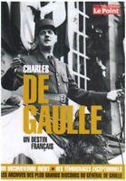 DVD ☆ CHARLES DE GAULLE UN DESTIN FRANCAIS ☆ LE POINT ☆ OCCASION