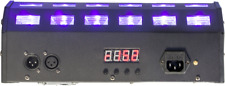 IBIZA LED-UV24 SCHWARZLICHT LED FLUTER 24x3 Watt LICHT EVENT BELEUCHTUNG BÜHNE