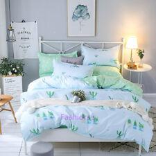 Cactus Single/Double/Queen/King Size Bed Quilt Doona Duvet Cover Set Pillow Case