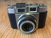 ZEISS IKON CONTINA Film Camera With PANTAR 1:2.8 F=45mm Lens