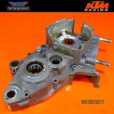 1999 KTM 300 380 250 MXC Engine Left Crank Case Crankcase Bottom End 54630000944