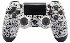 """3D White"" PS4 PRO Modded controller 40 MODS for COD WW2 BO3 All Games CUH-ZCT2U"