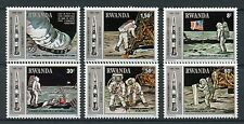 Rwanda 1980 MNH Apollo 11 Moon Landing 10th Anniv 6v Set Space Stamps