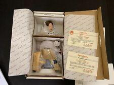 Danbury Mint Norman Rockwell No Swimming Porcelain Doll Nrfb