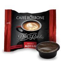 Caffè Borbone - Rote 100 Kaffee Kapseln Don Carlo Kompatibel Lavazza a Modo mio