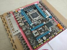 New X79 LGA2011 Motherboard ATX Supports DDR3 ECC/REG RAM upto 64Gb + IO Shield