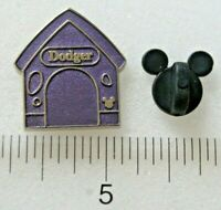 DODGER Oliver & Company Disney Dog Houses 2019 Hidden Mickey Pin 138344 Chaser