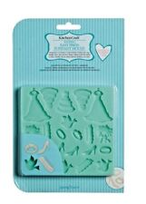 KITCHENCRAFT Easy Press Marriage/Wedding Fondant/Icing Mould. Dress/Cake/Dove