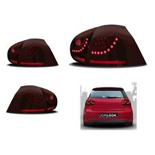 2 FEUX ARRIERE A LED ROUGE CERISE VW GOLF 5