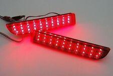 For Mitsubishi Lancer Evo X Red Lens Bumper Reflector LED Tail Brake Light CZ4A
