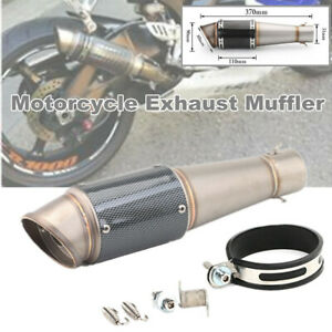 Motorcycle Large Displacement 51mm Dia. Inclined Exhaust Pipe For Honda Yamaha