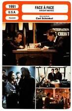FICHE CINEMA : FACE A FACE - Lambert,Skerritt,Lane 1991 Knight Moves