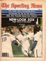 Sporting News 5/16 1981, Baseball, magazine,Carlton Fisk Greg Luzinski White Sox