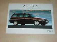 35408) Opel Astra GL Kombi Polen Prospekt 199?