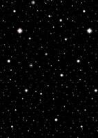 HOLLYWOOD MOVIE stars DECORATION Black Starry Night Sky  FREE P&P