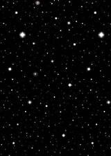 Hollywood Film étoiles Décoration Noir Nuit étoilée ciel