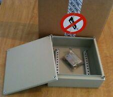 TERMINALE IN ACCIAIO ip55 Custodia WALLBOX 200x200x80mm NUOVO