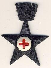026 Fregio da berretto da Truppa - Corpo Sanitario Militare - in plastica