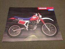 1988 Honda XR200 R - Motorcycle Sales Brochure Dealer Literature  XR200R XR 200