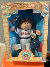 Vtg 1986 Cabbage Patch Boy 'California angels' Cpk Stadium