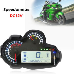 Modified Motorbikes Motorcycle Accessories LCD Digital Speedometer Instrument