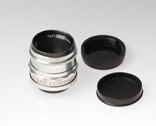 Carl Zeiss Jena Tessar 2.8/50 red T Objektiv / lens f. M42 12 Blades No. 3810215