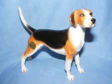 John Beswick Dog Foxhound Hunting Dog JBD71 Nice Present Gift NEW BOXED