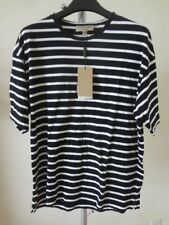 Men's Burberry Totford Striped Cotton Oversized T-Shirt Black/White M NWT