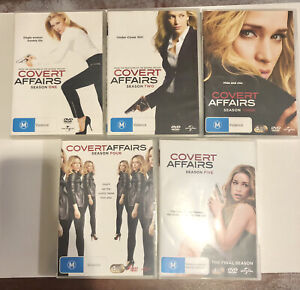 Covert Affairs - Complete Series Seasons 1-5  19 DVDs