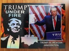 Decision 2016 Trump Under Fire BASE SILVER SINGLES - Select NrMint-Mint Card