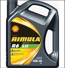 SHELL RIMULA r6 LM 10w-40 4l-Acea e6, e7 MB, Volvo, Renault, Deutz, Mack, CAT, cumm