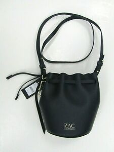 Zac Posen Navy Bucket Bag (tags attached)