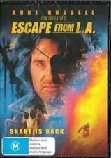 ESCAPE FROM L.A - KURT RUSSELL - NEW & SEALED REGION 4 DVD - FREE LOCAL POST